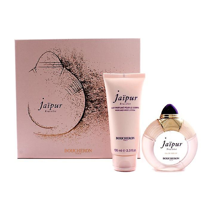 Boucheron Jaipur Armband Coffret: Eau De Parfum Spray 50 ml / 1,7 oz + Bodylotion 100 ml / 3.3 oz 2ST