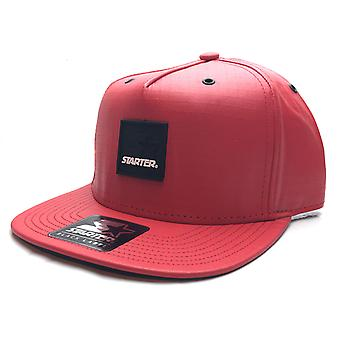 Starter Smoked Snapback Cap - Red / Black
