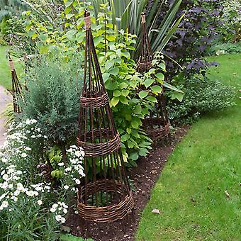 Forest Garden Willow Obelisk 1.5m - Pack of 2