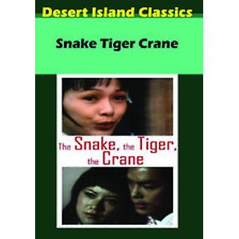 Snake Tiger Crane [DVD] USA import