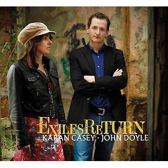 Karan Casey & John Doyle - Exiles Return [CD] USA import