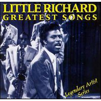 Little Richard - Greatest Songs [CD] USA importerer
