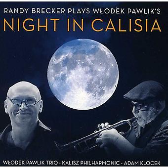 Randy Brecker & Wlodek Pawlik - speelt Wlodek Pawlik de nacht in Calisia [CD] USA importeren