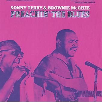 Importazione di Terry/McGhee - Preachin'USA Blues [CD]
