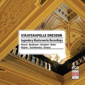 Staatskapelle Dresden - importación de Estados Unidos legendarias grabaciones de obras maestras [CD]
