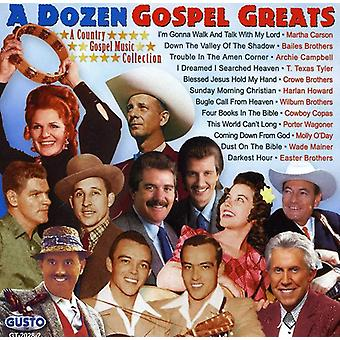 Dozen Gospel Greats - Dozen Gospel Greats [CD] USA import
