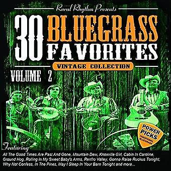 30 Bluegrass favoritter, Volume 2 - magt - 30 Bluegrass favoritter bind 2-Power [CD] USA importerer