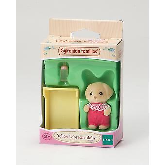 Toys - Sylvanian Families - Yellow Labrador Baby - Epoch