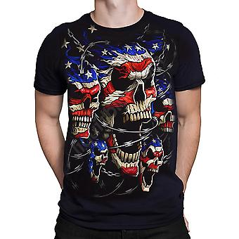Patriotic Wrath  Short Sleeve Tshirt