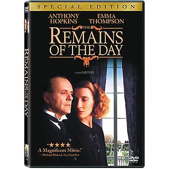 Remains of the Day [DVD] USA import