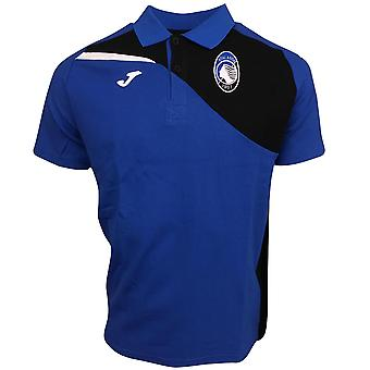 2017-2018 Atalanta Joma Polo Shirt (Blue)
