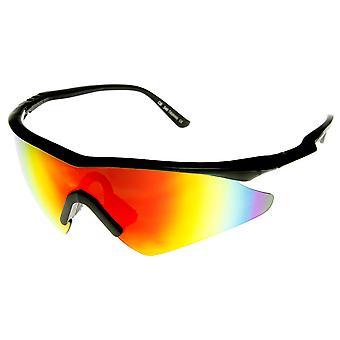 Hastighed mærke store halv ramme semi-uindfattede Revo Sports solbriller