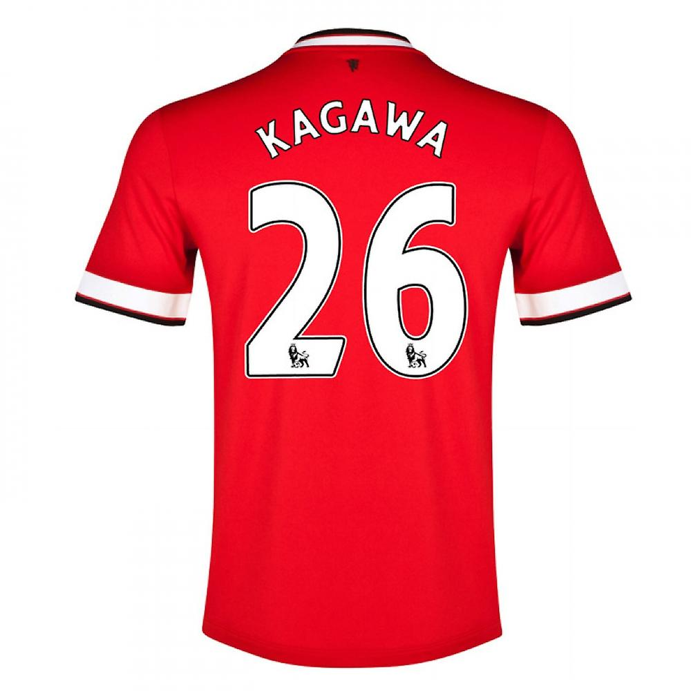 2014-15 Manchester United Home Shirt (Kagawa 26) - Kids