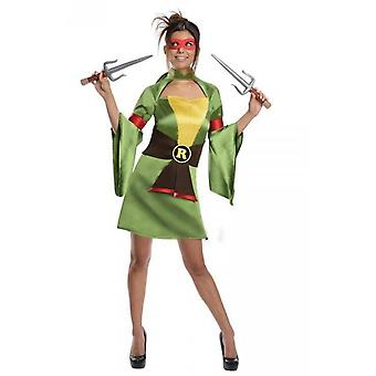 Vrouwen kostuums vrouwen Lady Ninja turtle Raphael kostuum