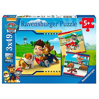 Ravensburger Canine Patrol 3X49 Puzzle (Toys , Boardgames , Puzzles)