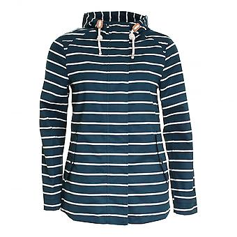 Joules Coast Print Waterproof Hooded Jacket (V)