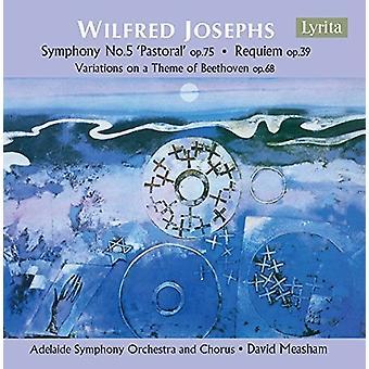 Joseph / Adelaide Symphony Orchestra / Dawe - Wilfred Josephs: Orkesterværker [CD] USA import