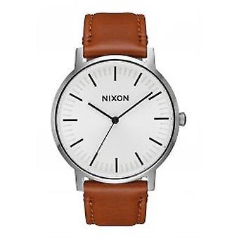 Nixon Porter couro branco Sunray sela (A1058-2442)