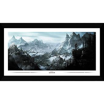 Skyrim Vista Collector Print 50x100cm