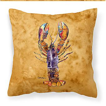 Carolines Treasures  8716PW1414 Lobster Fabric Decorative Pillow