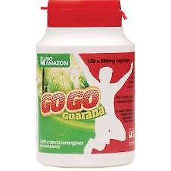 Rio Amazonas, GoGo Guarana 500mg, 120 vegicaps