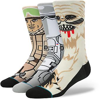Stance Star Wars Empire Strikes Back 3 Pack Crew Socks