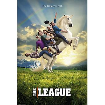 The League - Unicorn Poster Poster Print