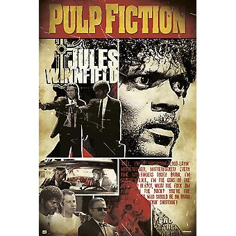 Pulp Fiction Jules Poster Poster Print