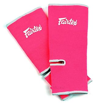 Fairtex Ankle Support - Pink/White