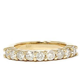 1ct Diamond trouwring 14K geel gouden Ring Band