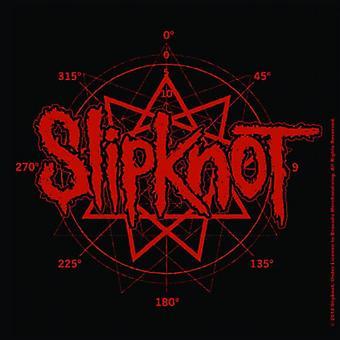 Slipknot Coaster band Logo new Official 9.5cm x 9.5cm Cork single drink