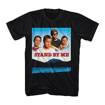 Stand By Me Poster Men's Black T-shirt