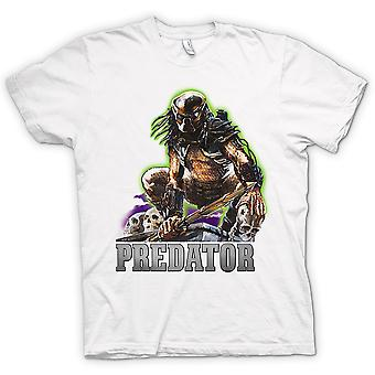 Womens T-shirt - Predator Hunter - Classic Movie