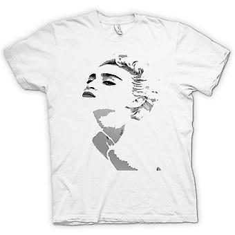 Mens T-shirt - Madonna - Grey