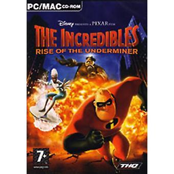 Superhjältarna löneförhöjningen av Underminer (PC CD)
