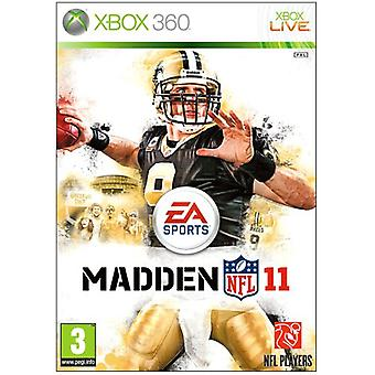 Madden NFL 11 (Xbox 360) - Factory Sealed