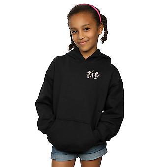 Disney Girls Mary Poppins Letter Breast Print Hoodie