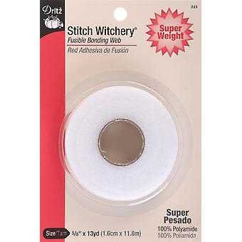 Dritz Stitch Witchery Fusible Bonding Web Super Weight-.625
