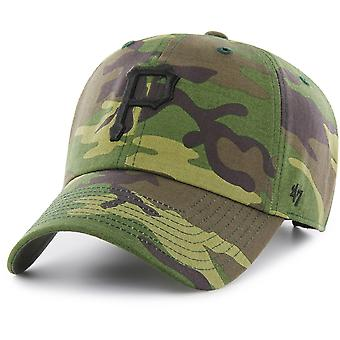 47 fire Adjustable Cap - MLB Pittsburgh Pirates wood camo