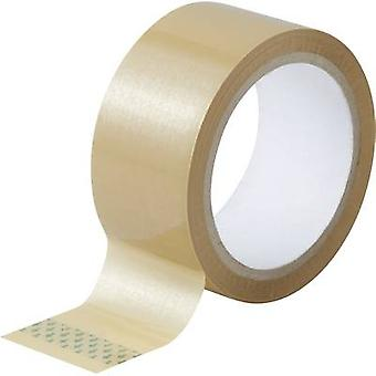 Packaging tape Brown (L x W) 50 m x 48 mm TOOLCRAFT