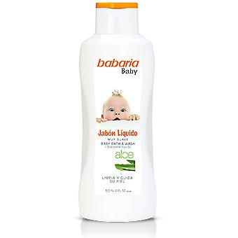 Babaria Baby Aloe Vera Liquid Soap 600 ml