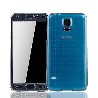 Samsung Galaxy S5 / S5 neo mobile-Schutzcase cover glass transparent armor protection