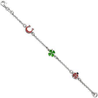 Bracelet pour enfants 925 sterling argent 14 cm enfants bracelet charm