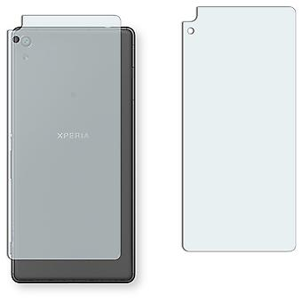 Sony Xperia XA ultra back screen protector - Golebo crystal-clear protector (deliberately smaller than the display, as this is arched)