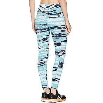 Adidas Performance Womens Camo Essentials pleine longueur Gym Tight Leggings - glace