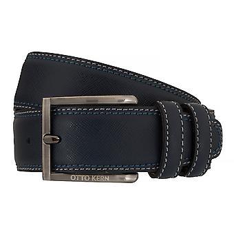 OTTO KERN Cinture cinture in pelle cintura blu 7658