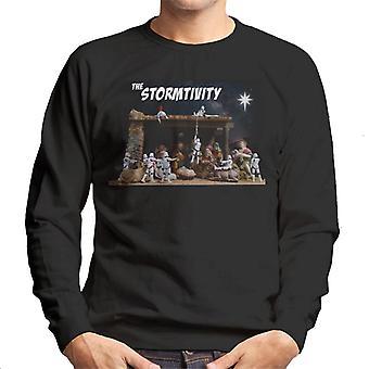 Ursprungliga Stormtrooper den jul Stormtivity stjärniga Mäns tröja