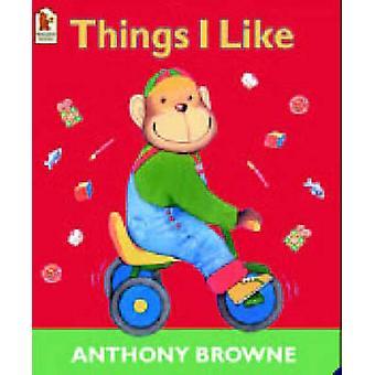Dingen die ik graag door Anthony Browne - 9780744598582 boek