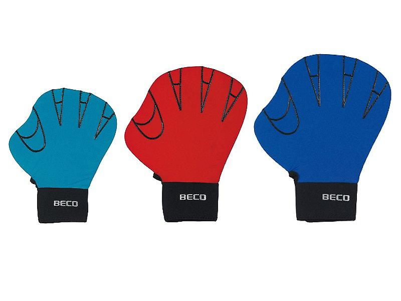 BECO Full Swimming Glove (Medium) - Red