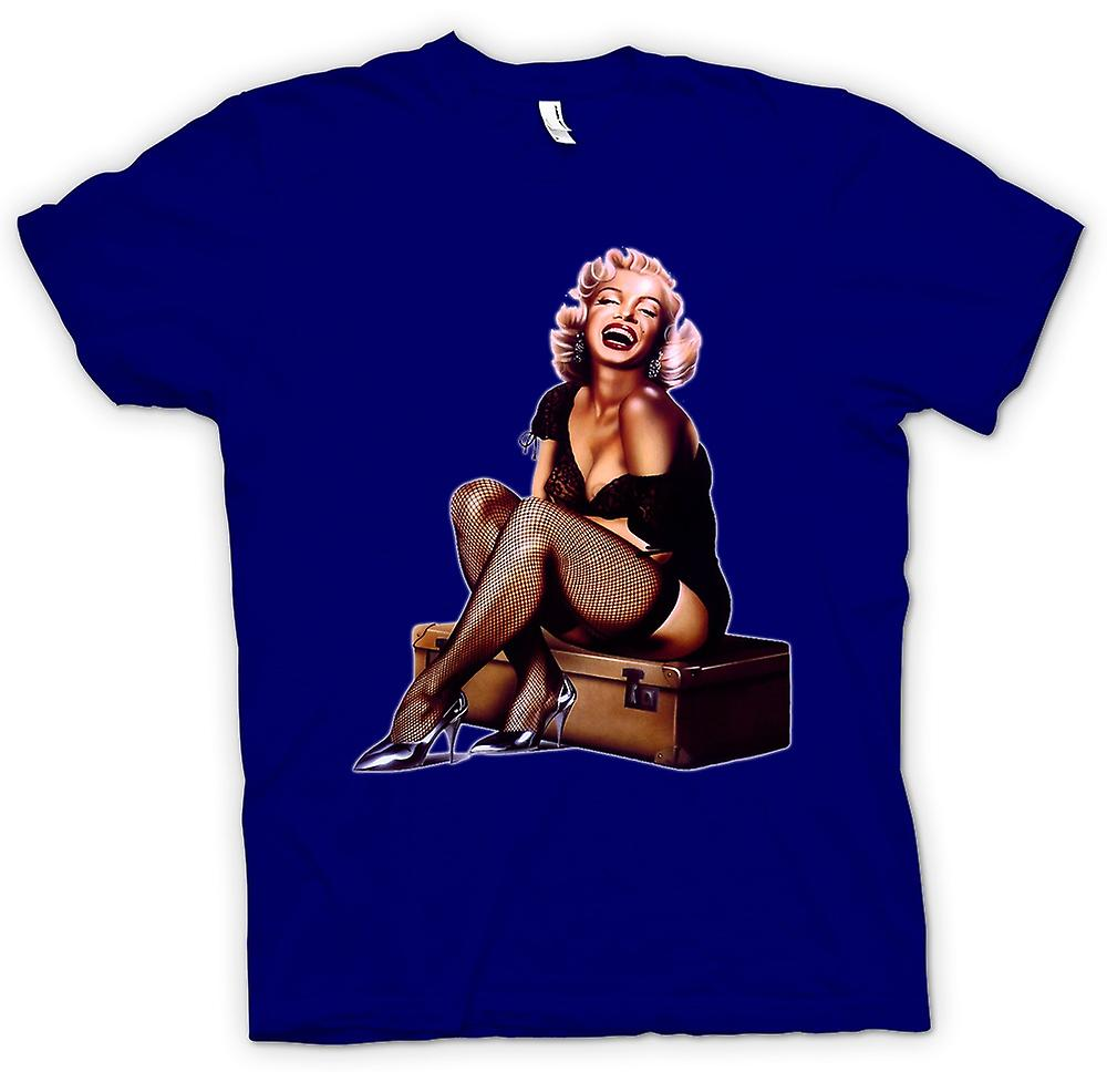 Herr T-shirt - Marilyn Monroe - Vintage - Pin-Up
